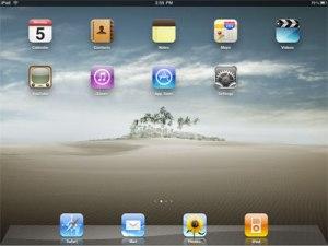 iPad desktop